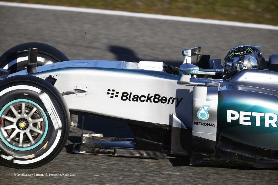 F1 Jerez Testing