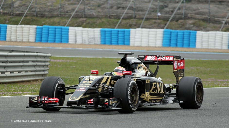 First pictures: Lotus E23 takes to the track in Jerez