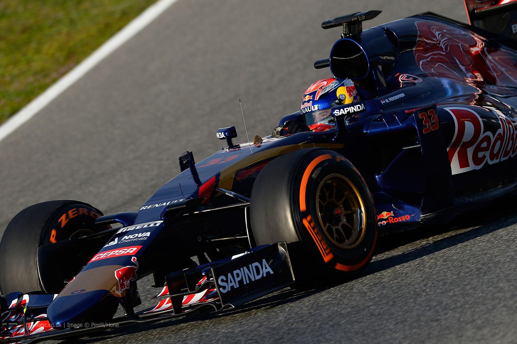 Max Verstappen, Toro Rosso, Circuito de Jerez, 2015