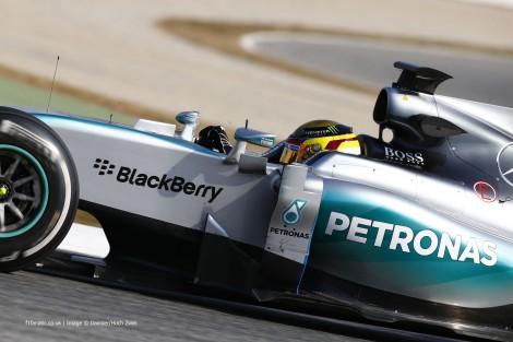Pascal Wehrlein, Mercedes, Circuit de Catalunya, 2015