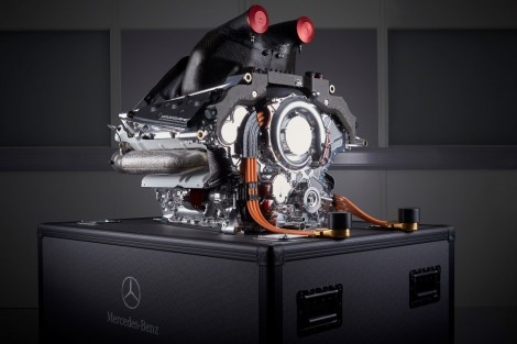 Mercedes PU106B hybrid engine