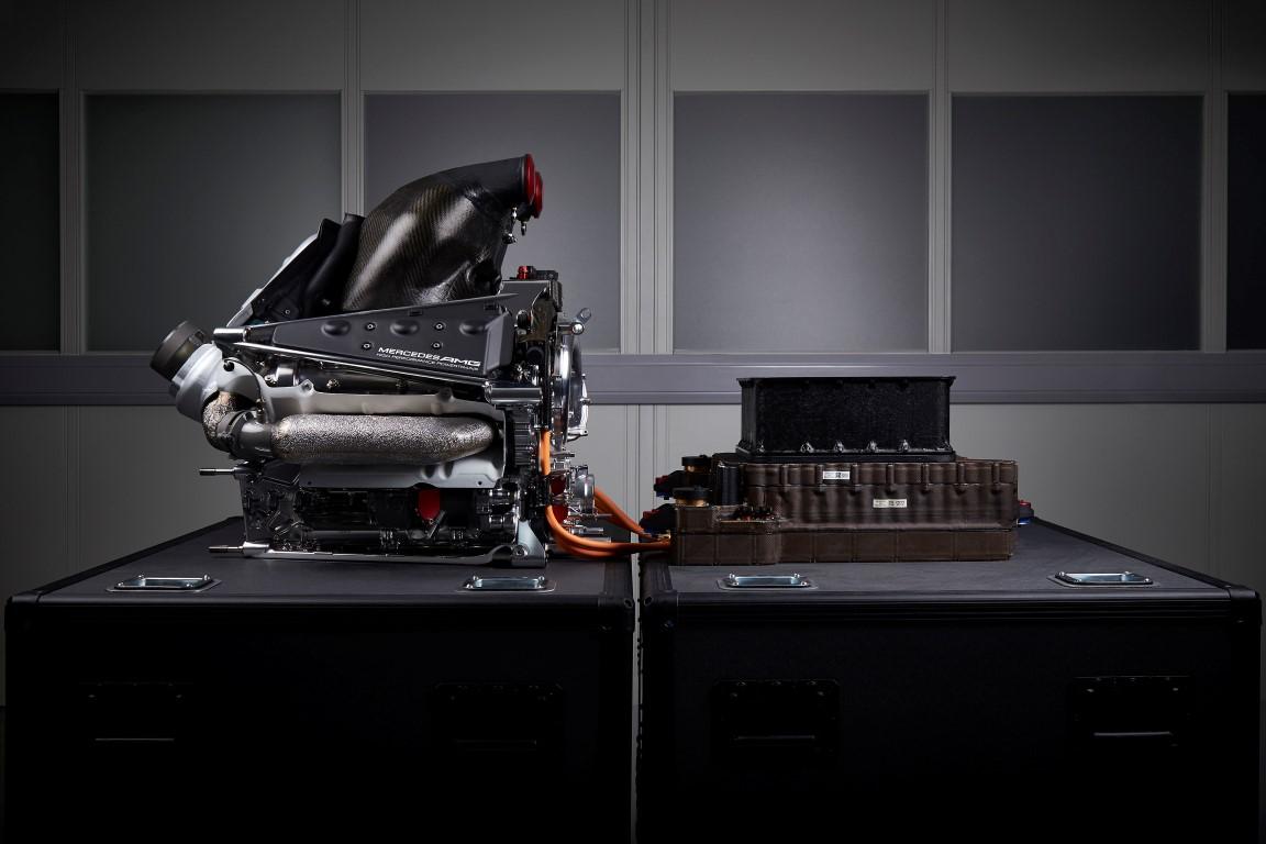 Mercedes PU106B hybrid engine
