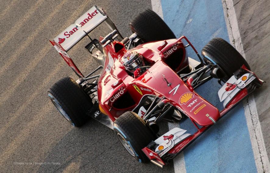 F1 Jerez Testing 2015