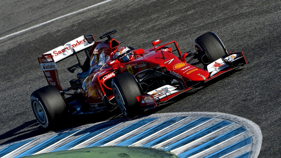 "Vettel sees ""massive step forward"" at Ferrari"