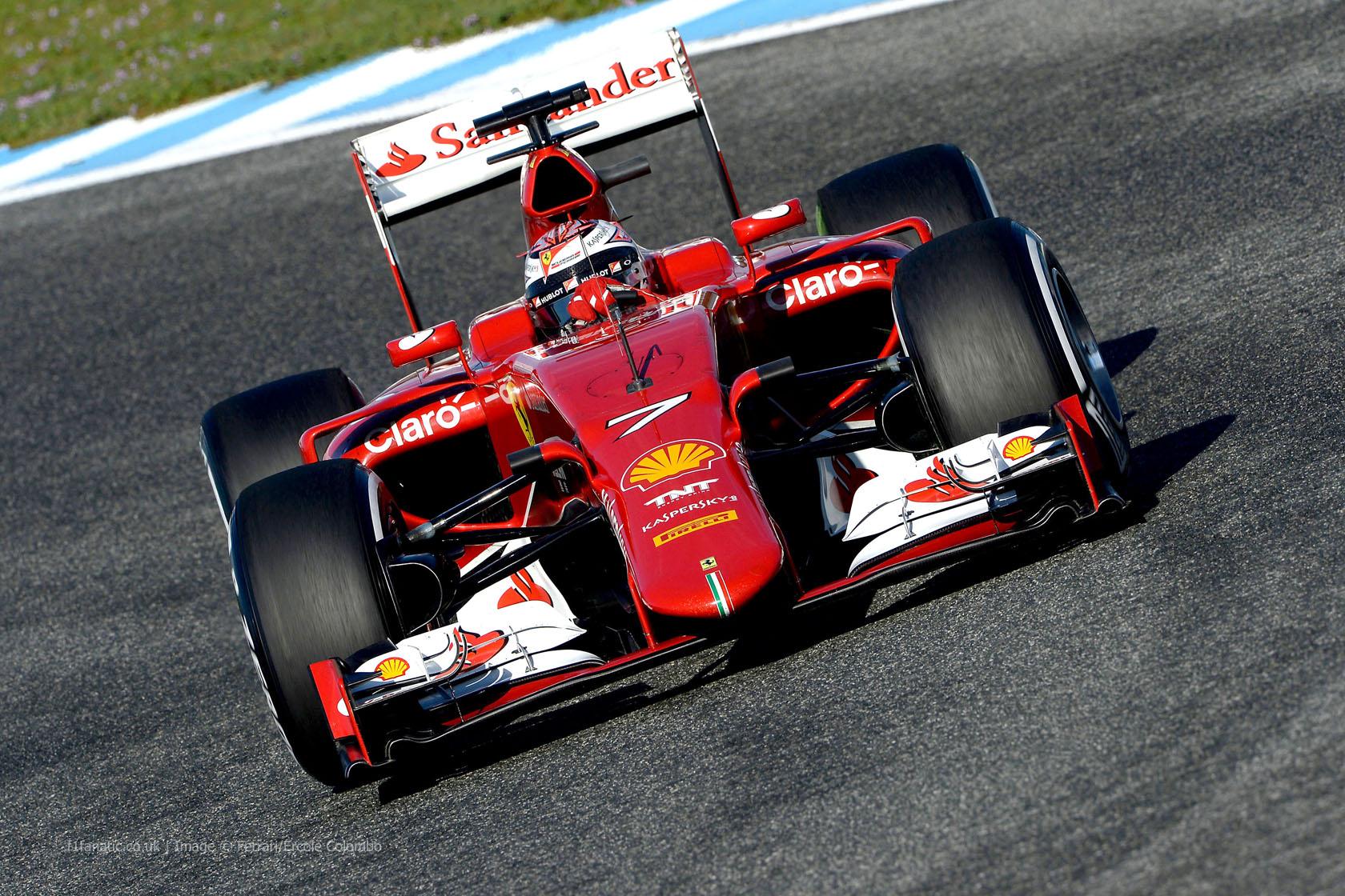 Kimi Raikkonen, Ferrari, Circuito de Jerez, 2015