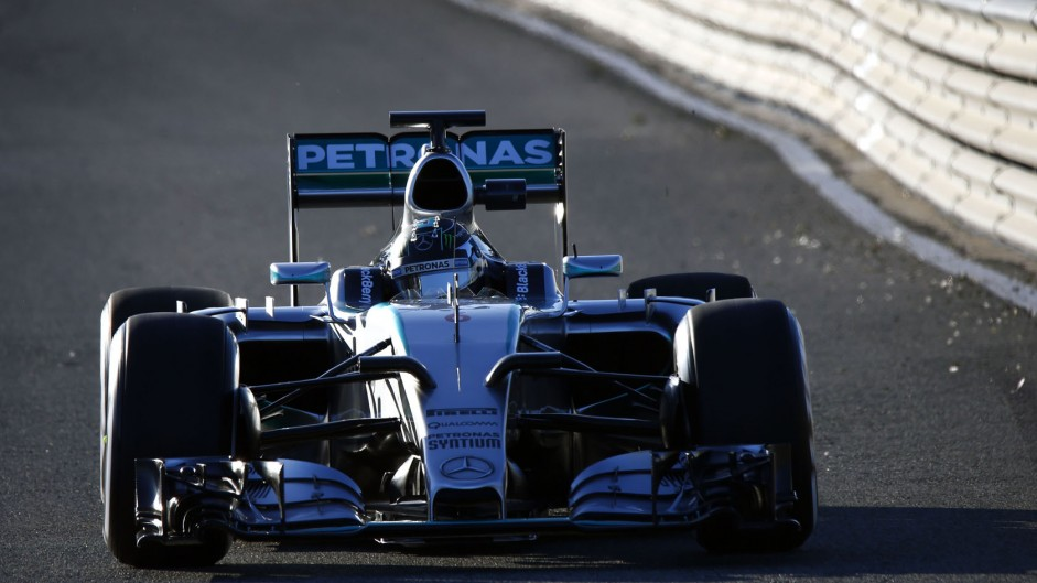 Nico Rosberg, Mercedes, Circuito de Jerez, 2015