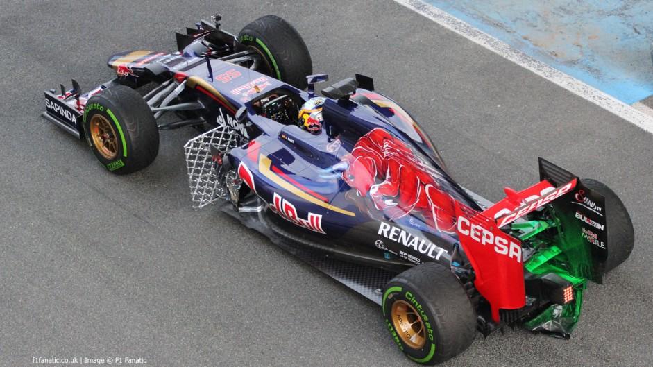 Carlos Sainz Jnr, Toro Rosso, Circuito de Jerez, 2015