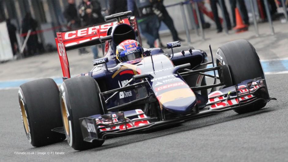 STR10 a 'big step' over 2014 – Verstappen