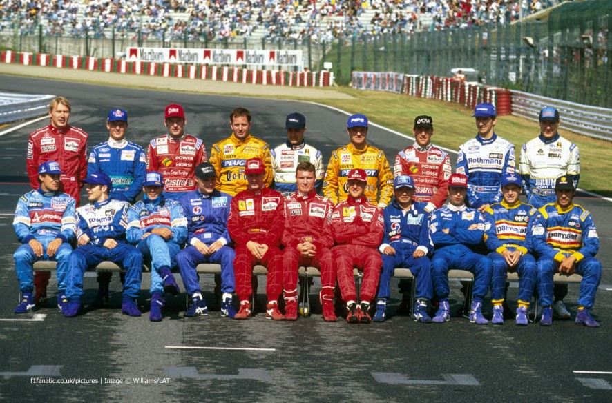 铃鹿赛车手,1996年