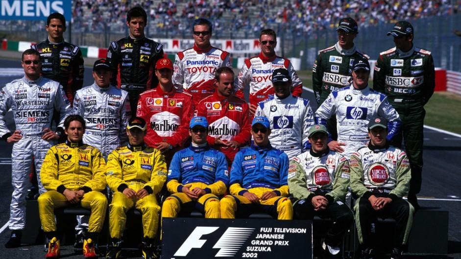 Drivers, Suzuka, 2002