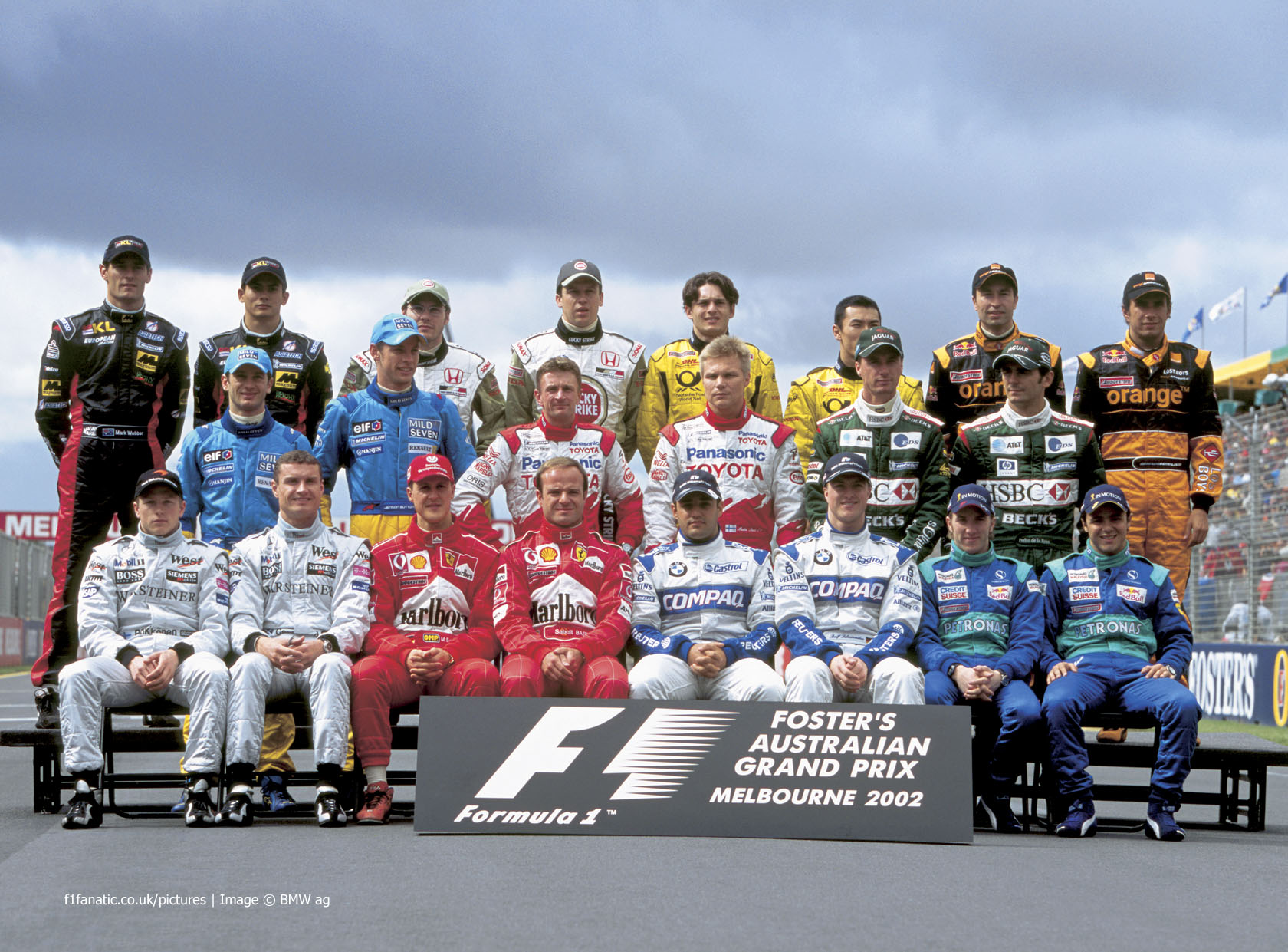 Drivers, Melbourne, 2002