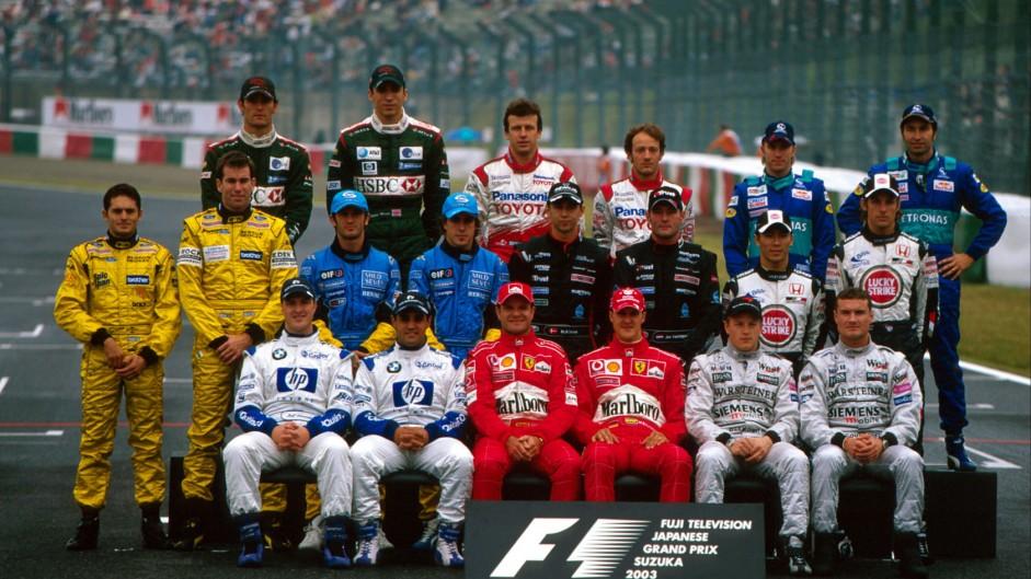 Drivers, Suzuka, 2003