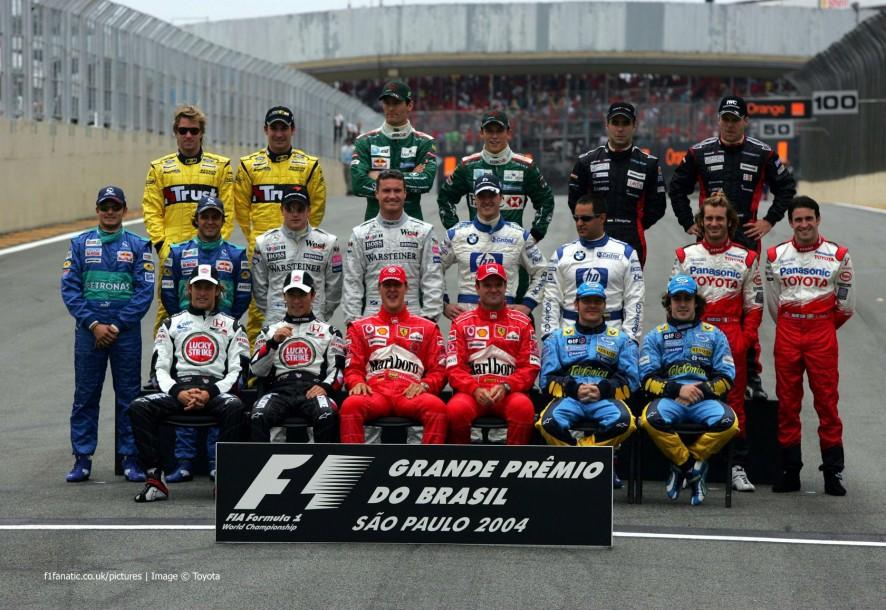 车手,Interlagos,2004年