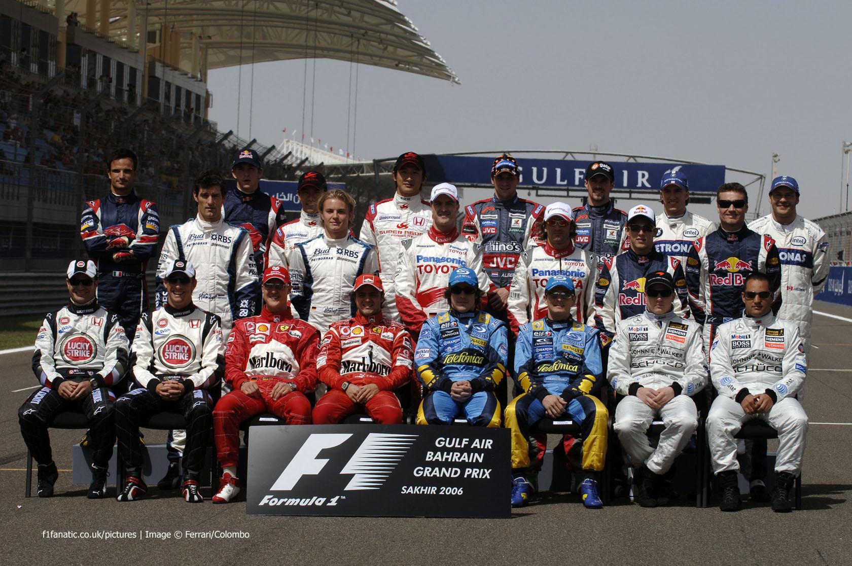 Drivers, Bahrain, 2006