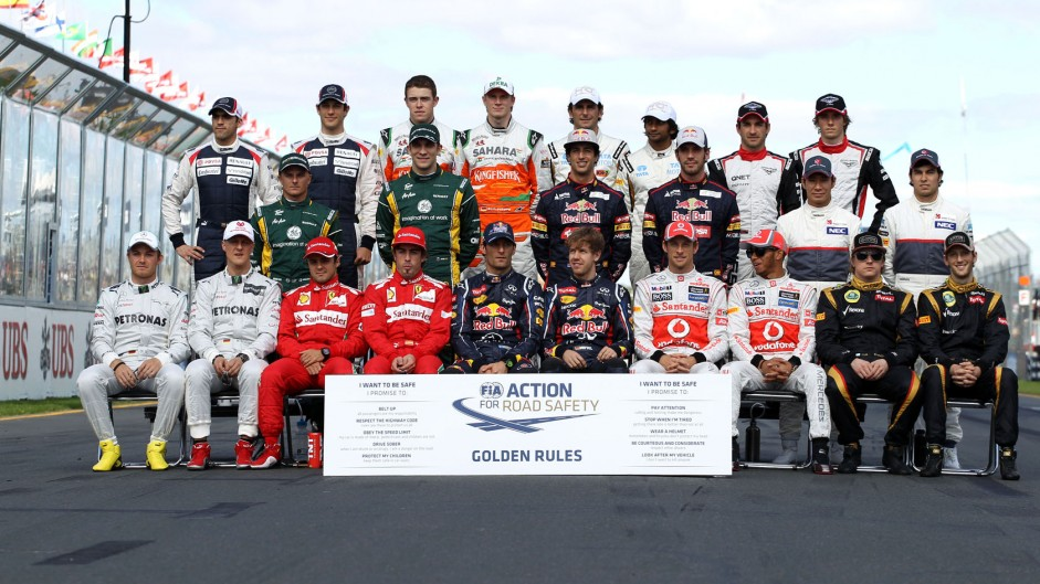 Drivers, Melbourne, 2012