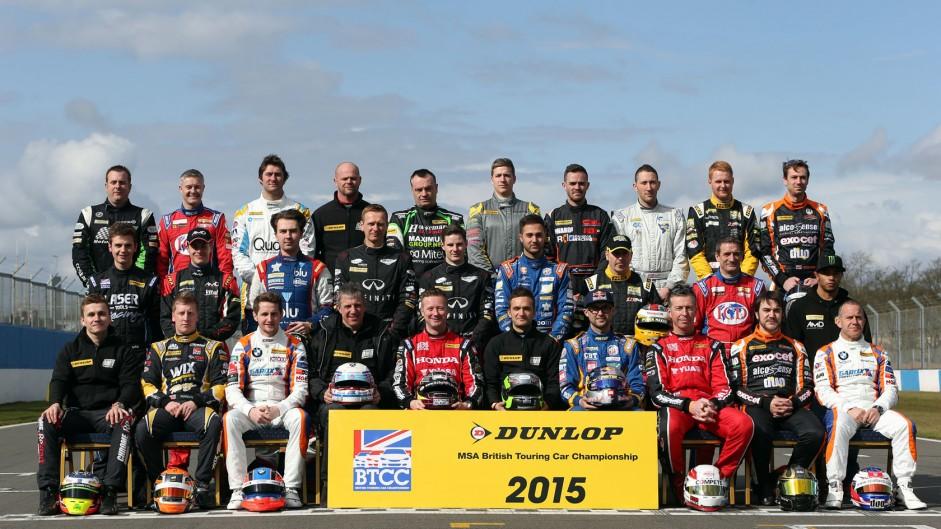 2015 BTCC drivers