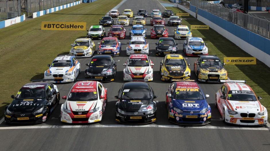 2015 BTCC grid