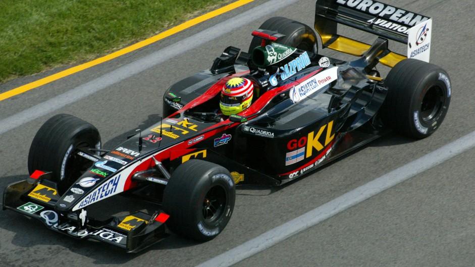 Alex Yoong, Minardi, 2002