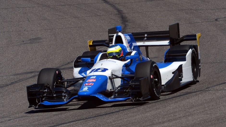 Carlos Huertas Dale Coyne IndyCar NOLA 2015