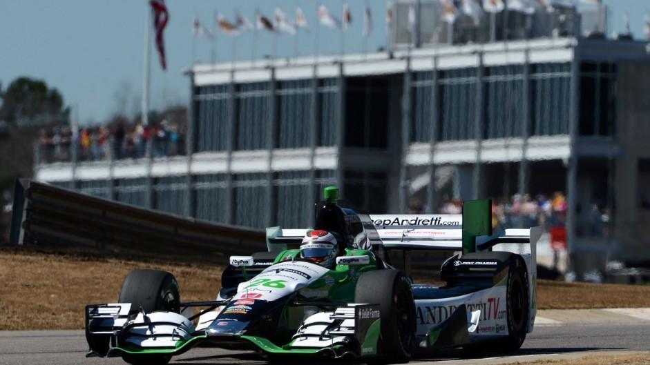 Carlos Munoz Andretti IndyCar NOLA 2015