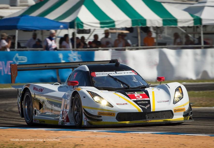 Joao Barbosa/Sebastien Bourdais/Christian Fittipaldi, Chevrolet Corvette, USC, Sebring, 2015
