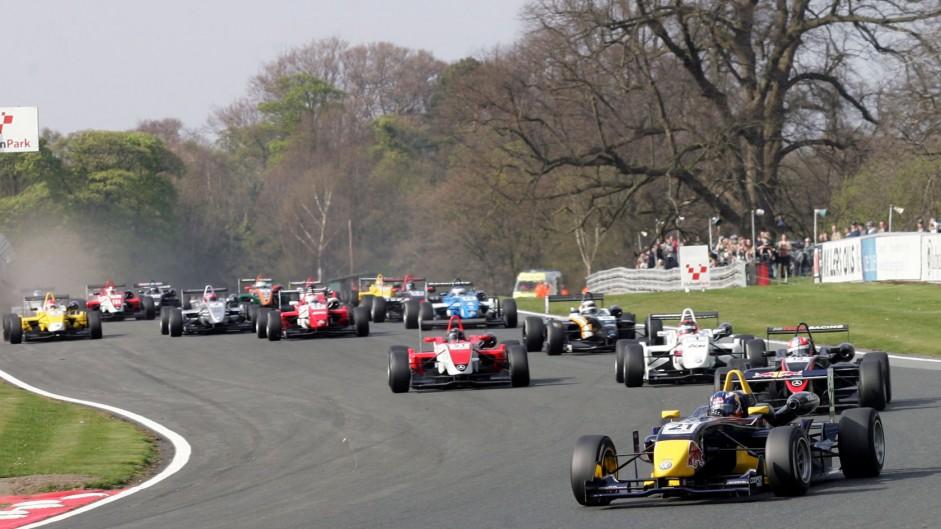 Daniel Ricciardo, British F3, Oulton Park, 2009