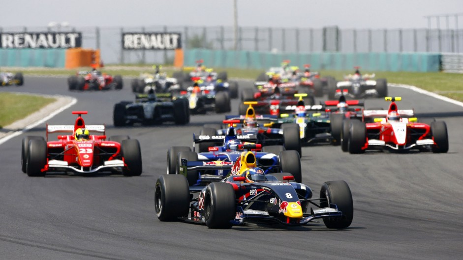 Daniel Ricciardo, Formula Renault 3.5, Hungaroring, 2010