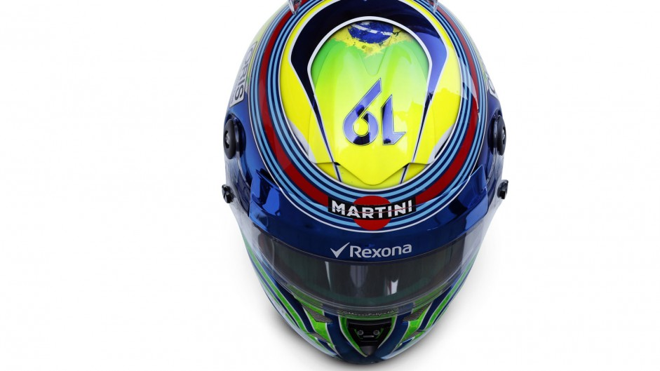 Felipe Massa helmet 2015