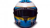 Fernando Alonso 2015 F1 helmet