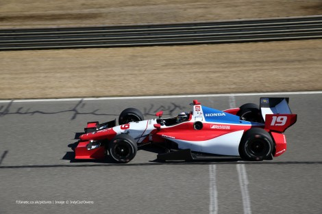 Francesco Dracone Dale Coyne IndyCar NOLA 2015