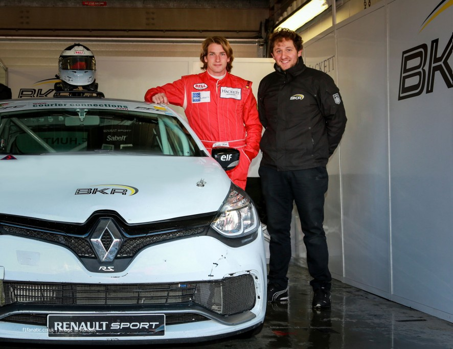 Freddie Hunt, Team BKR, Renault Clio Cup, 2015