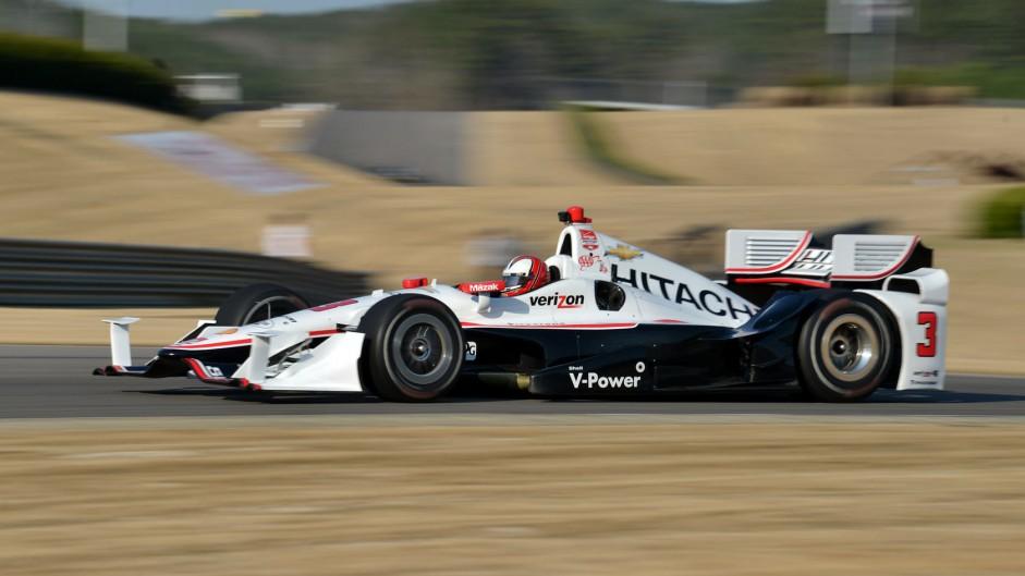Helio Castroneves Penske IndyCar Barber 2015