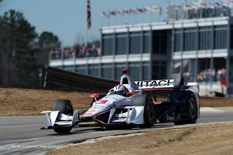 Helio Castroneves Penske IndyCar NOLA 2015