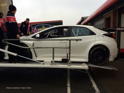 Honda Civic Type R BTCC 2015