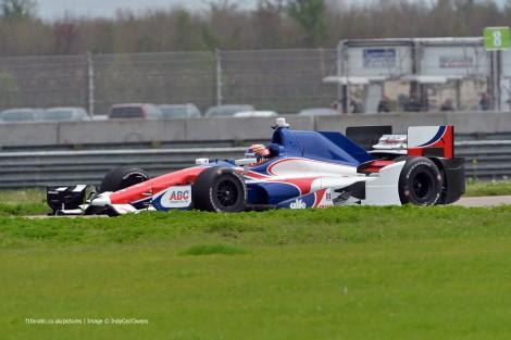Jack Hawksworth Foyt IndyCar NOLA test 2015