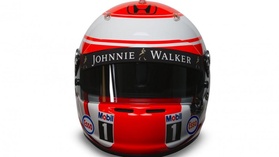 Jenson Button 2015 F1 helmet