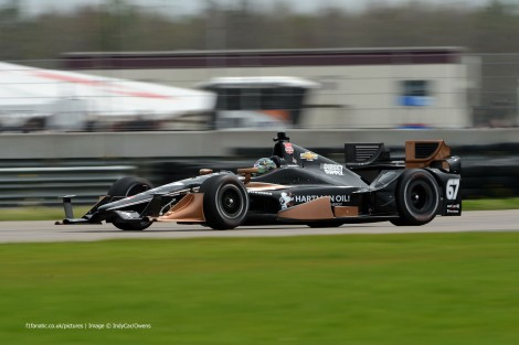 Josef Newgarden CFH IndyCar NOLA test 2015