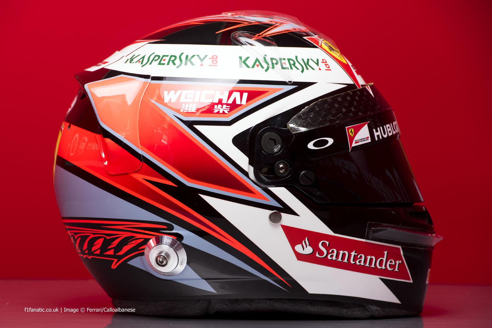 Kimi Raikkonen helmet 2015