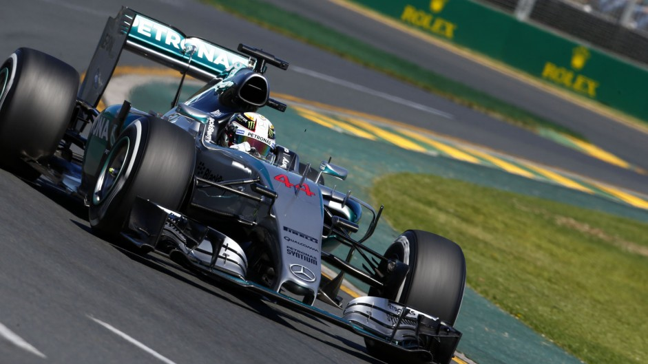 Hamilton wins as Mercedes clean up in Melbourne