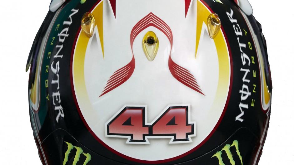 Lewis Hamilton 2015 F1 helmet