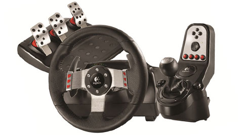 Logitech G27 470 Steering wheel and pedals