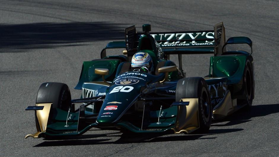 Luca Filippi Ed Carpenter IndyCar NOLA 2015
