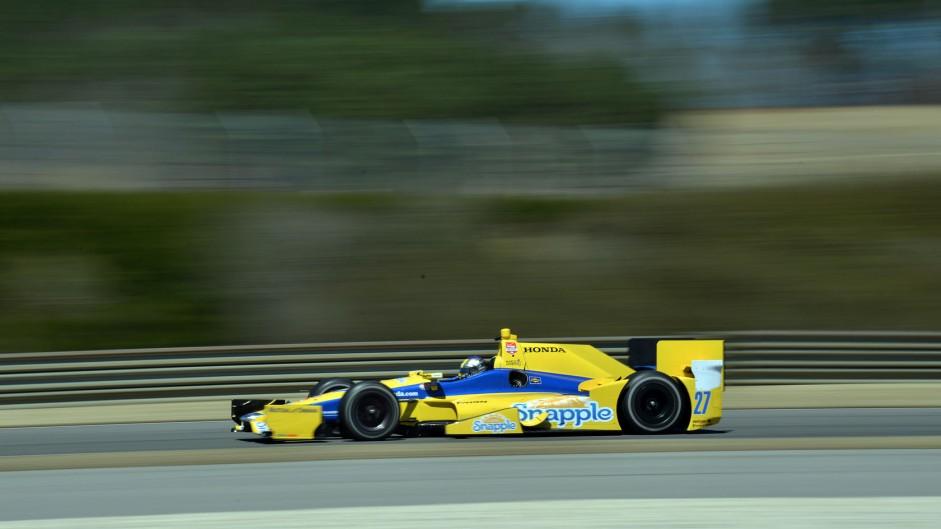 Marco Andretti Andretti IndyCar NOLA 2015