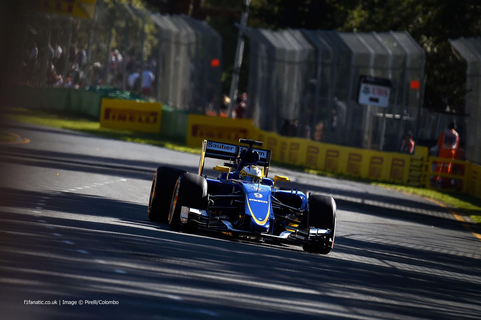 Marcus Ericsson, Sauber, Albert Park, 2015