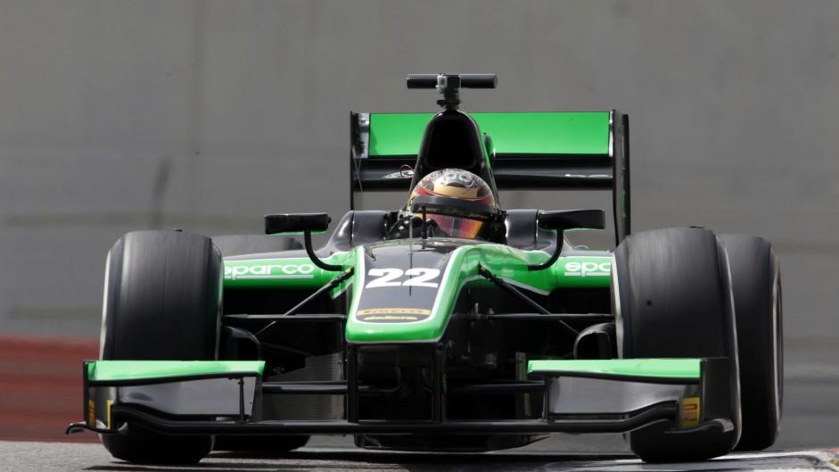 Marlon Stockinger, Status, GP2 testing, Yas Marina, 2015