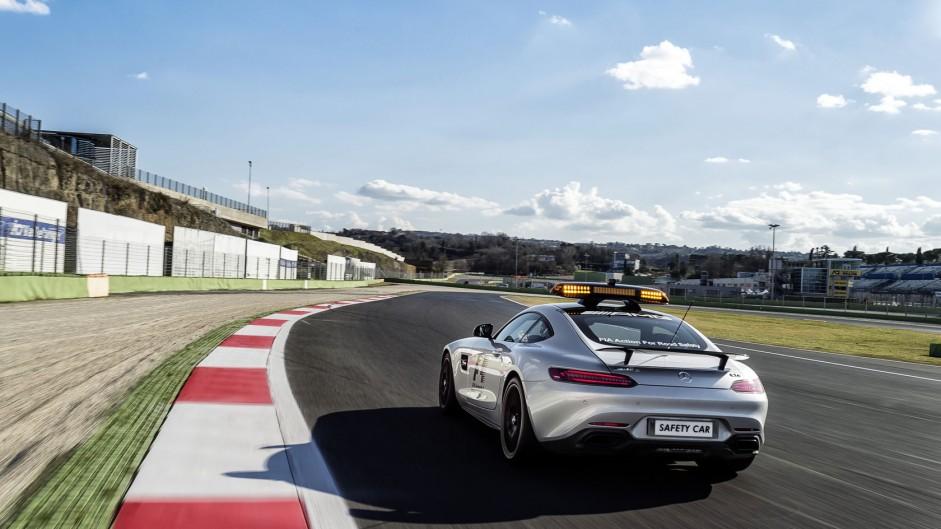 Mercedes-AMG GT S Safety Car, 2015