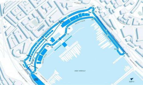 Monaco ePrix circuit, 2015