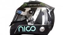 Nico Rosberg 2015 F1 helmet