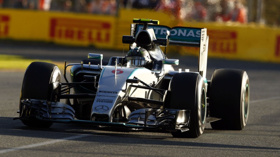 How Hamilton rebuffed Rosberg in the final laps