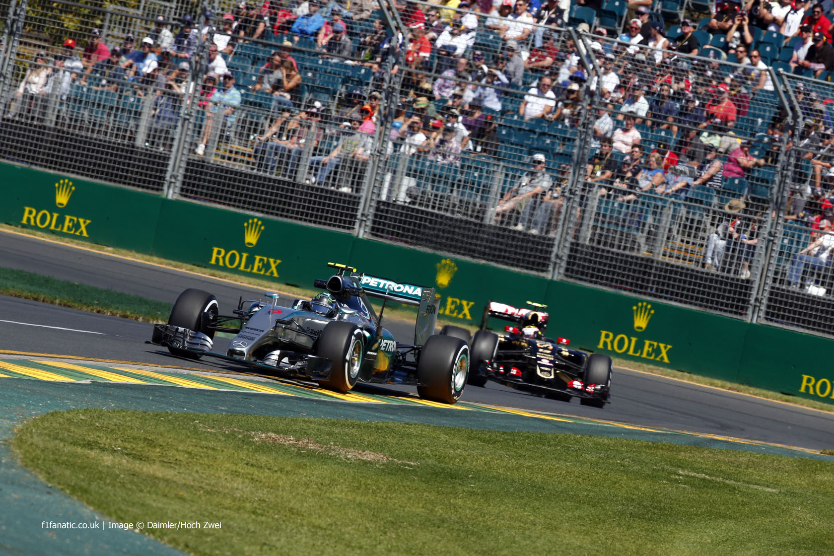 Nico Rosberg, Mercedes, Albert Park, 2015